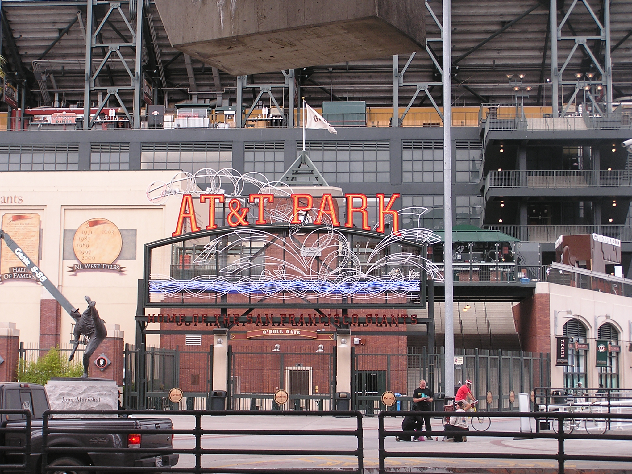 The Right Field Exterior at A T & T Park - SF