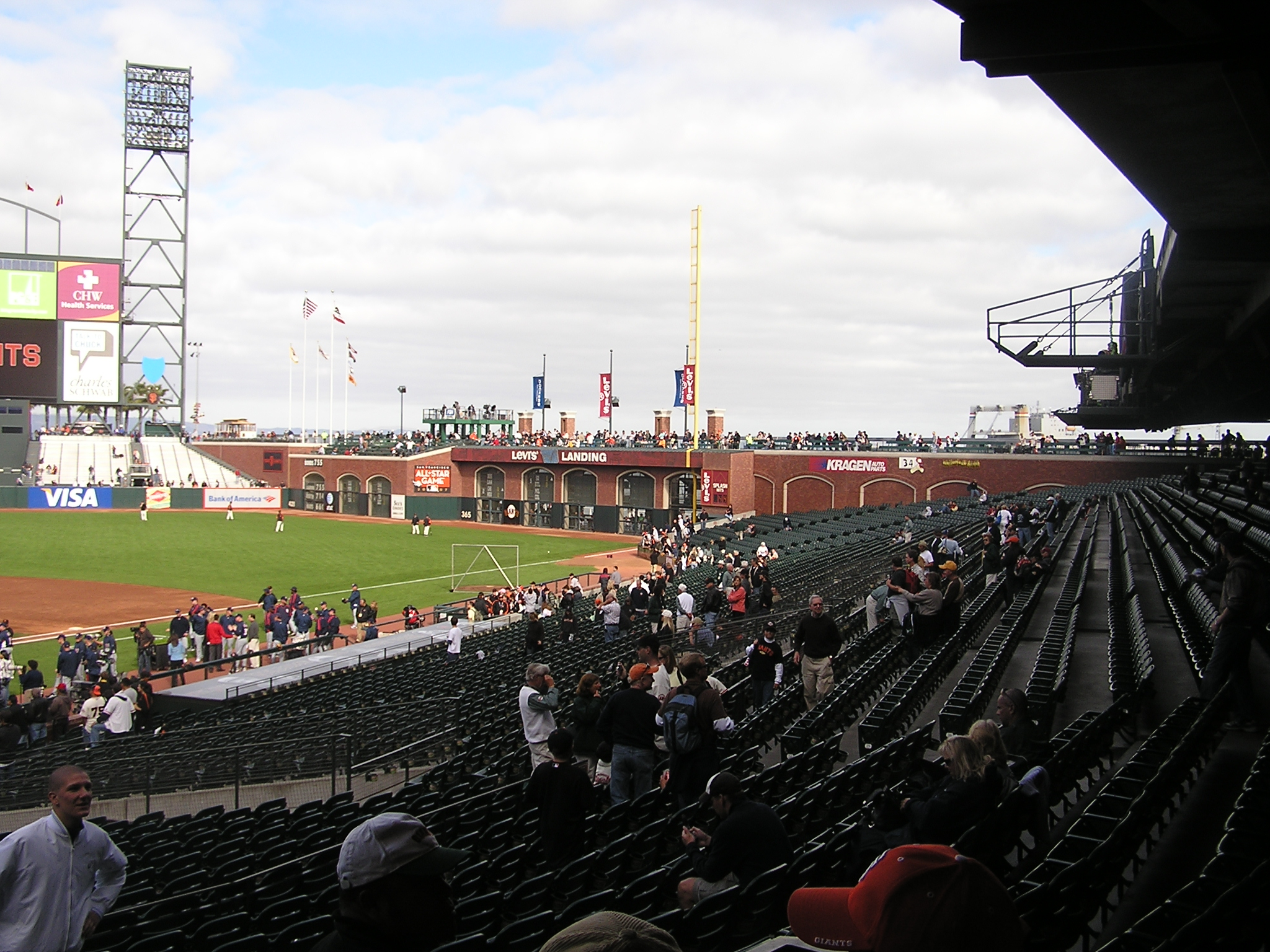 Looking at Right Field - San Francisco AT&T