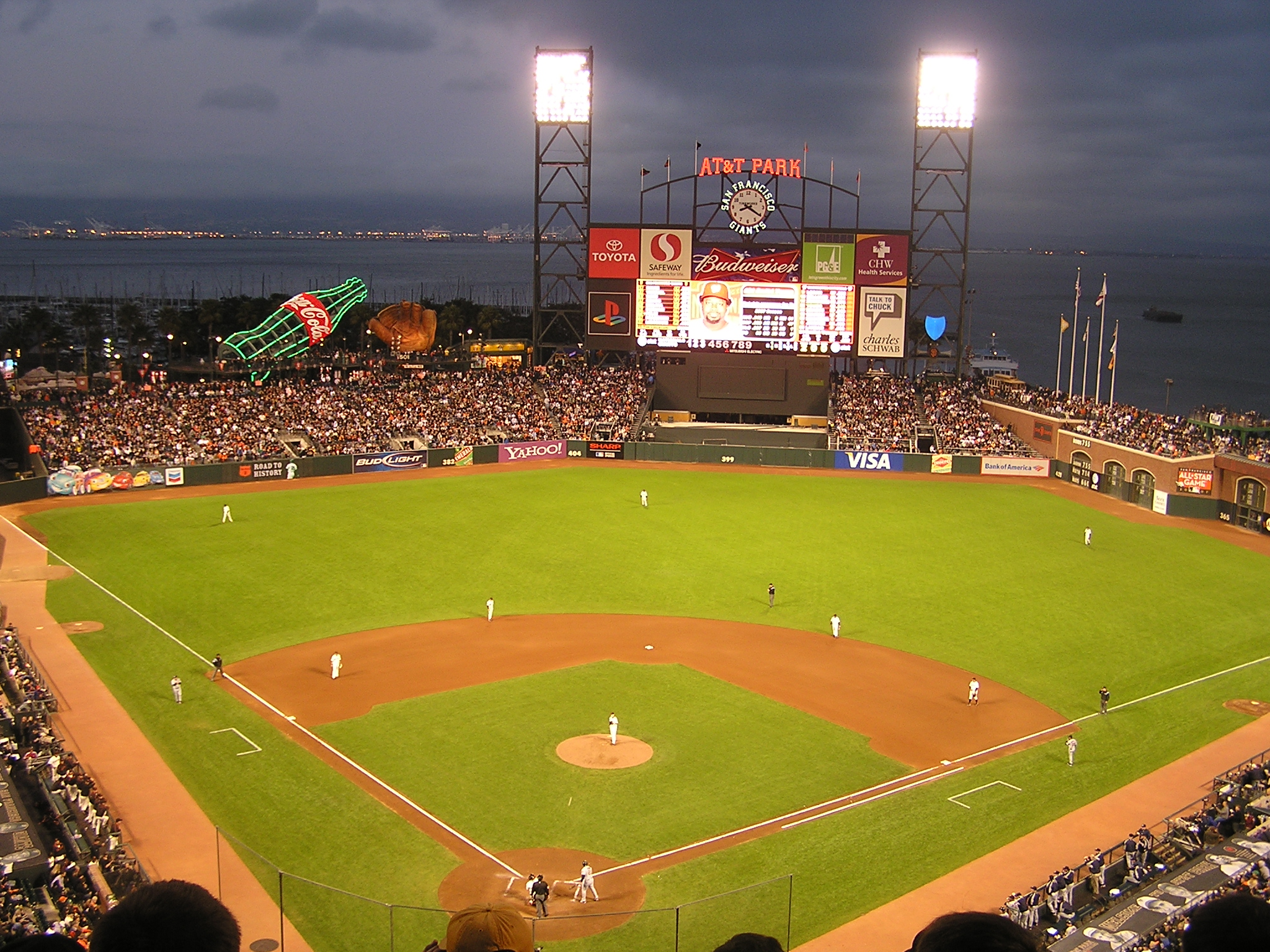 Dusk at AT&T Park - San Francisco
