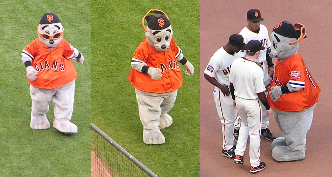 Lou Seal - The SF Giants Mascot